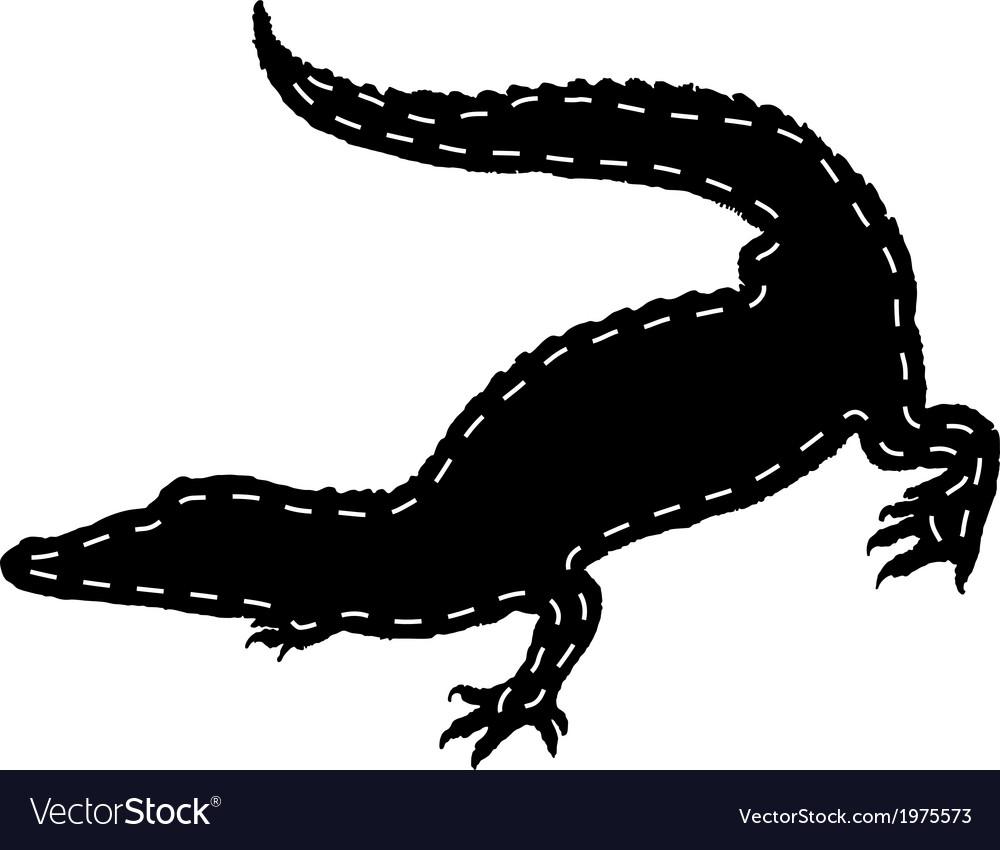 Crocodile leather vector | Price: 1 Credit (USD $1)