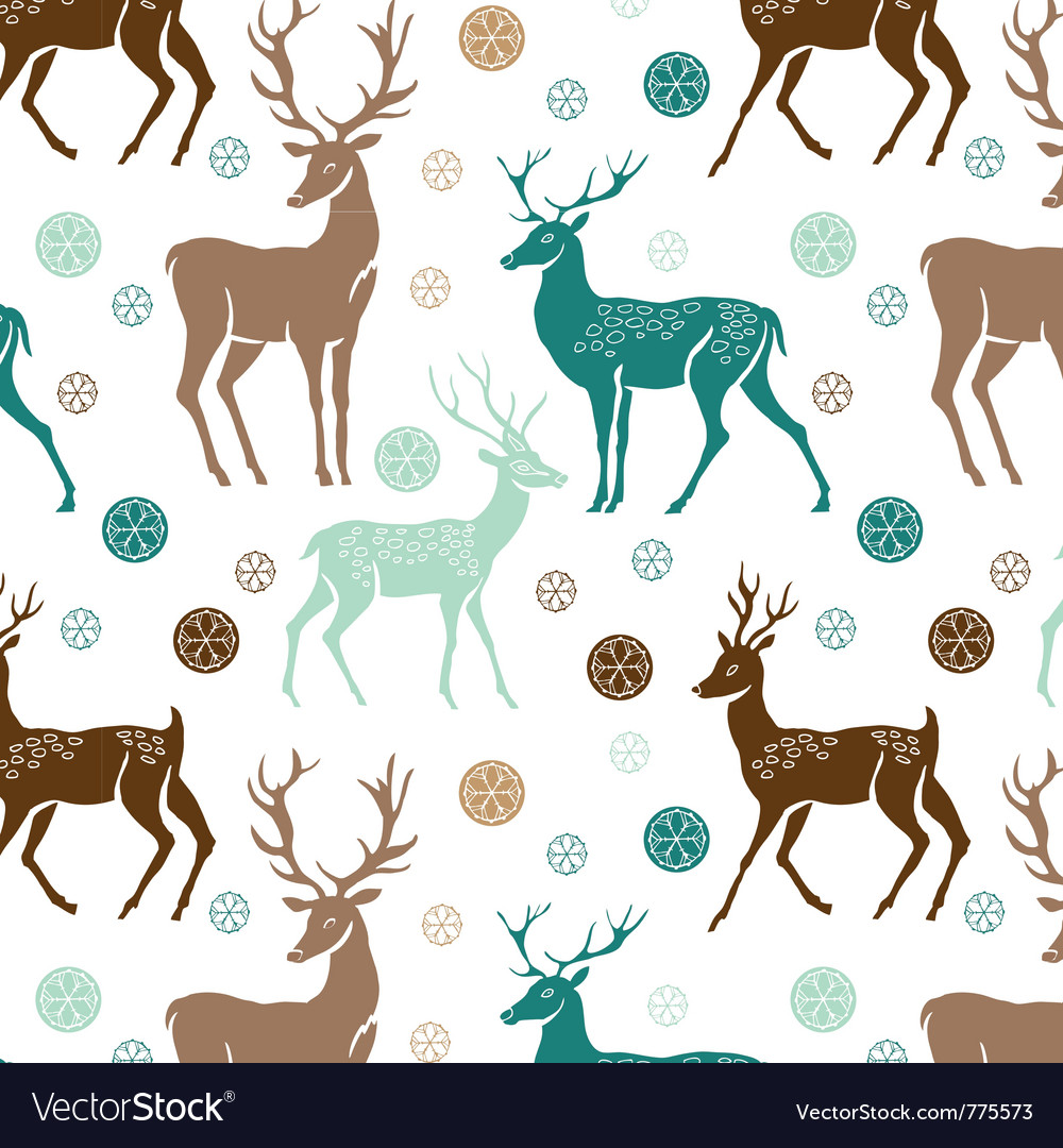 Deer wallpaper vector | Price: 1 Credit (USD $1)