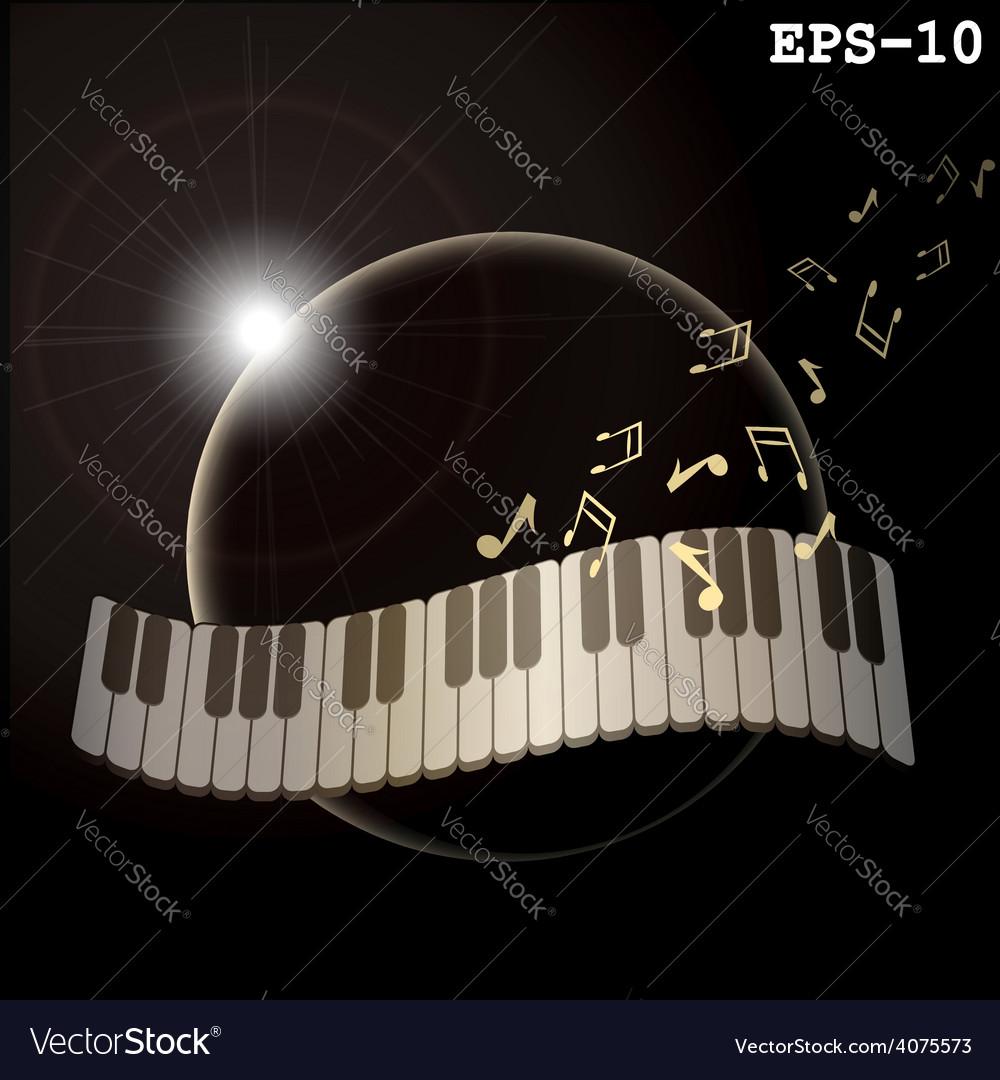 Music planeta vector | Price: 1 Credit (USD $1)