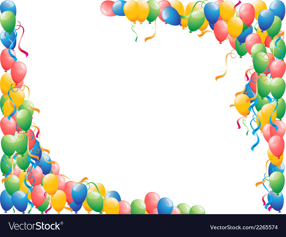 Balloons background vector | Price: 1 Credit (USD $1)