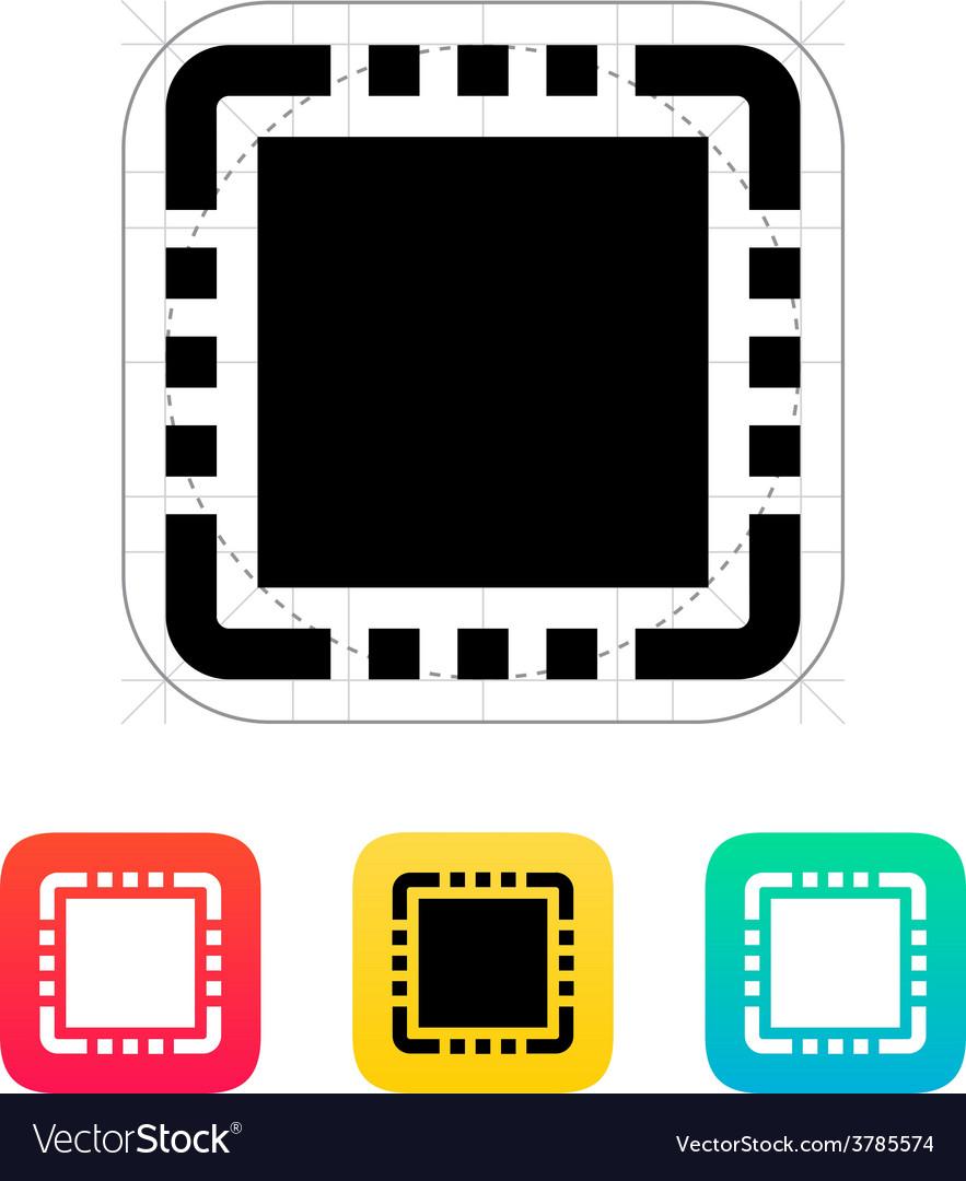 Cpu icon vector   Price: 1 Credit (USD $1)