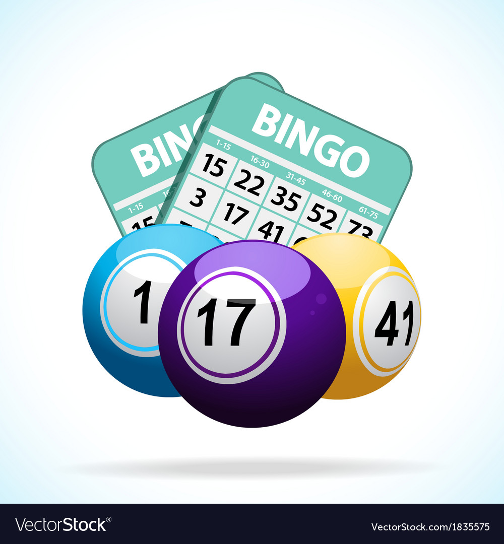 Bingo balls and cards vector | Price: 1 Credit (USD $1)