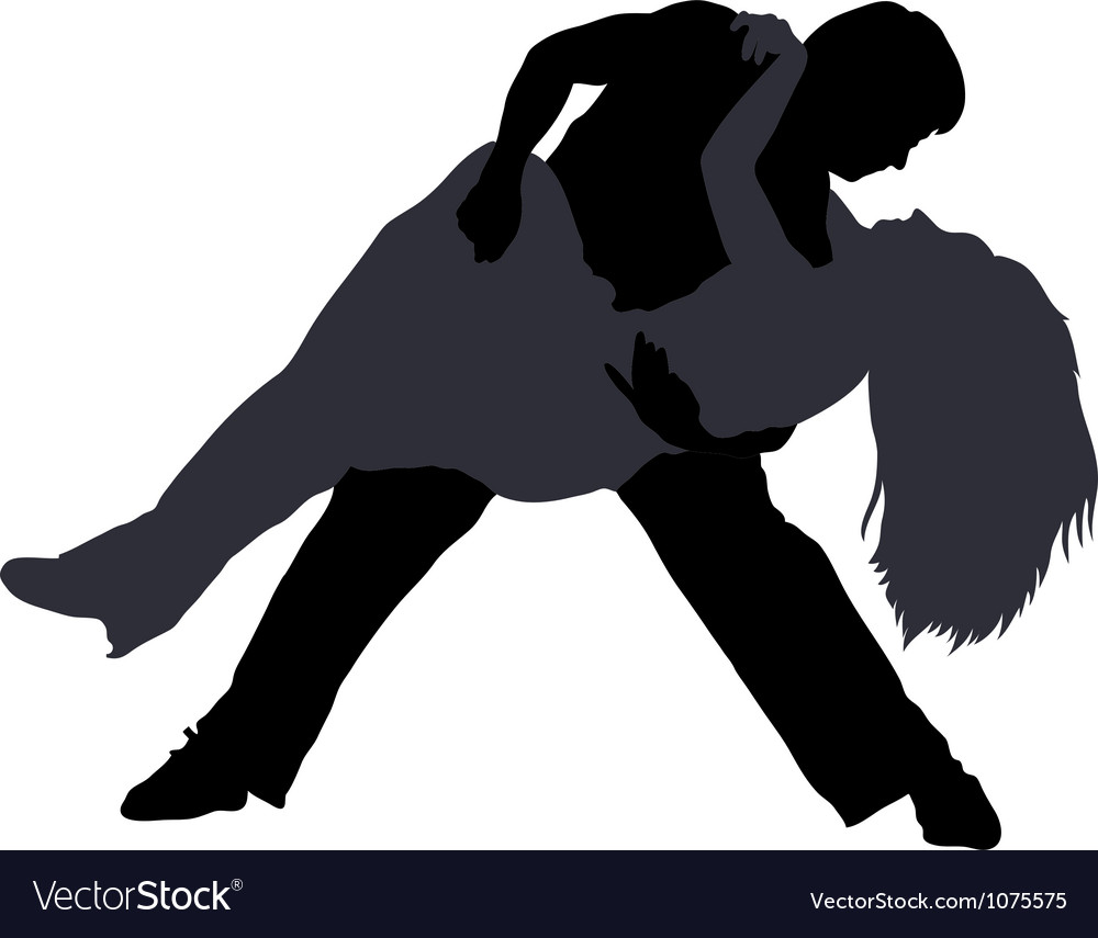 Break dancers silhouettes vector | Price: 1 Credit (USD $1)