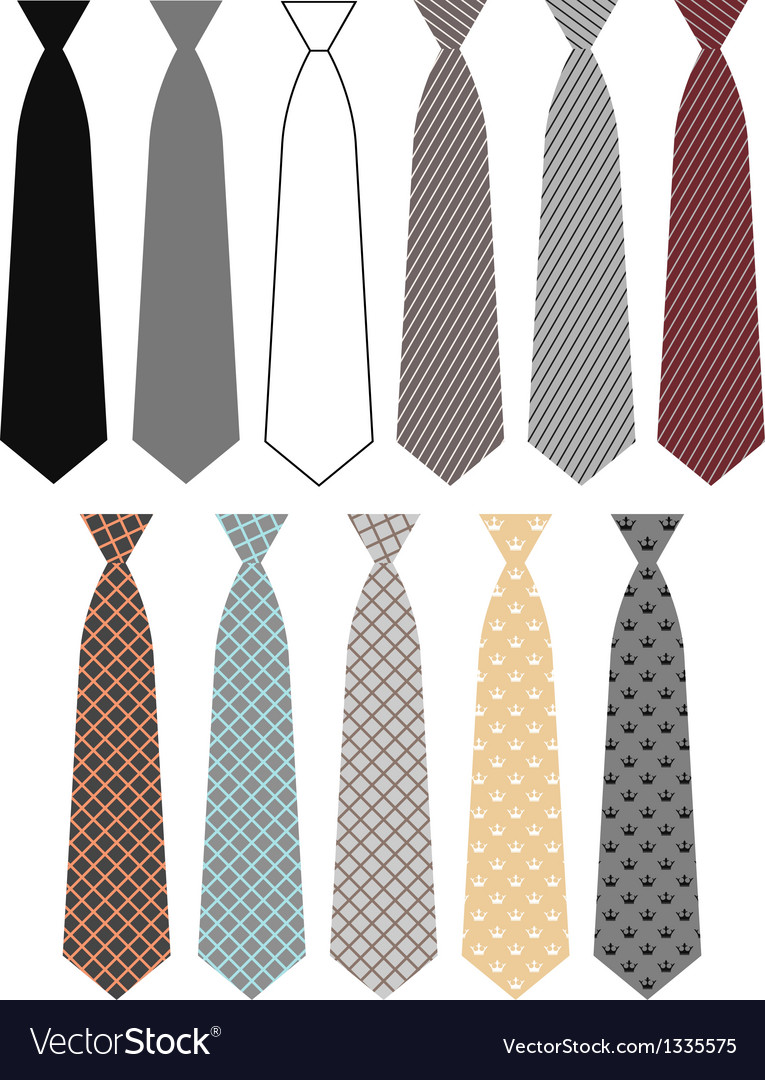Necktie vector | Price: 1 Credit (USD $1)