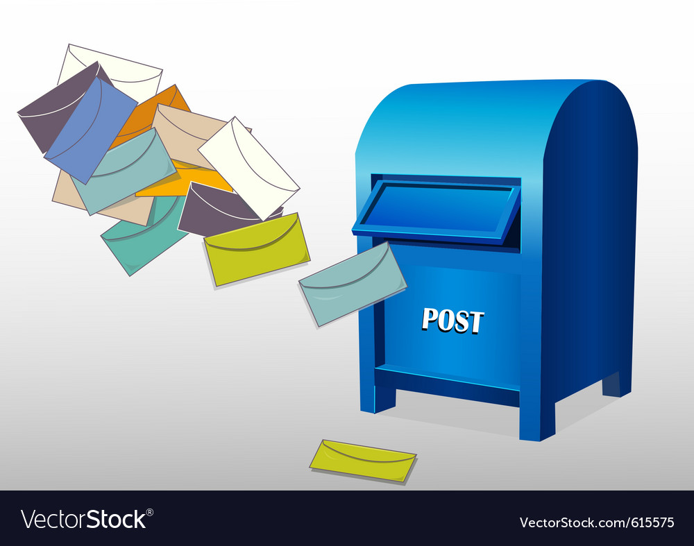 Post office box vector | Price: 1 Credit (USD $1)