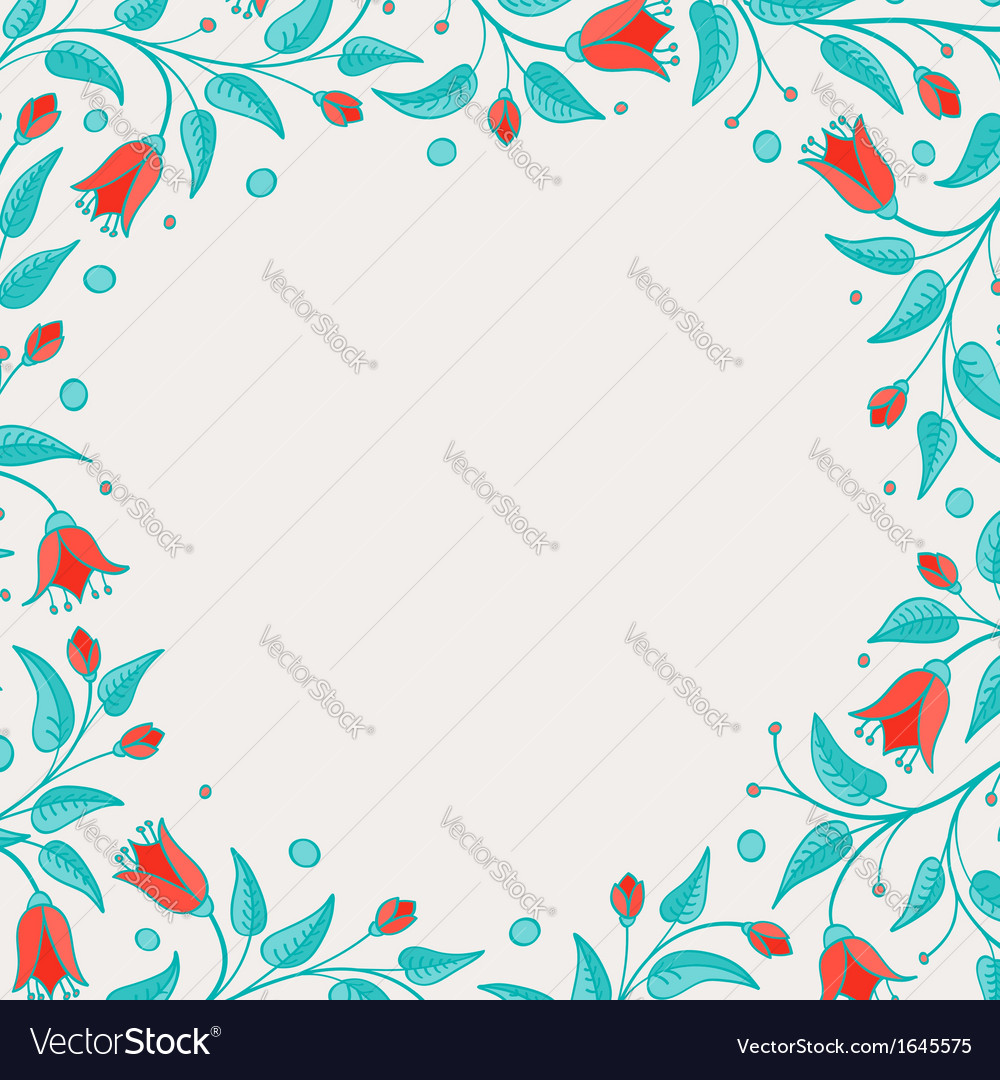 Template for birthday card or invitation vector | Price: 1 Credit (USD $1)