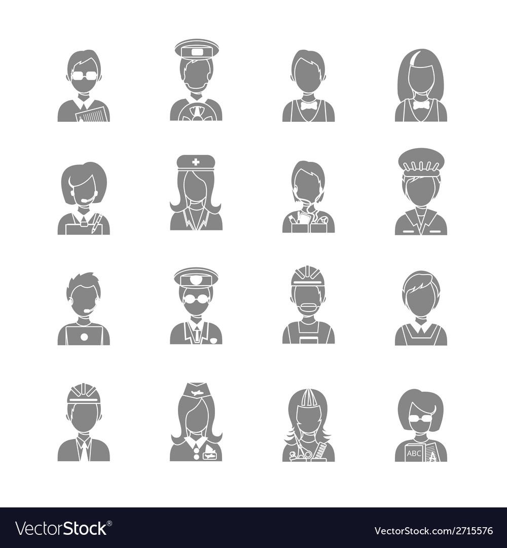 Profession avatar vector