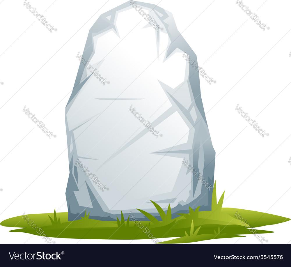 Wayside stone vector | Price: 1 Credit (USD $1)