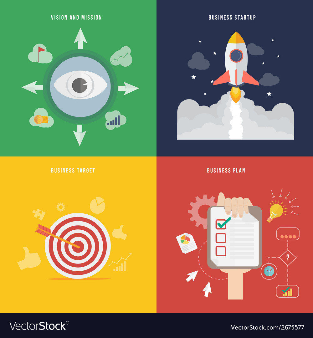 Element of business development concept icon in vector | Price: 1 Credit (USD $1)