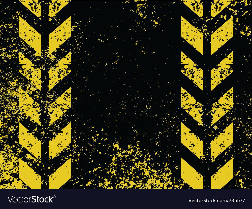 Grungy hazard stripes vector | Price: 1 Credit (USD $1)