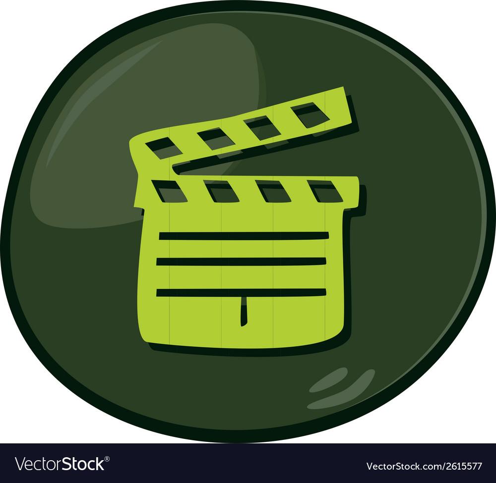 Media icon vector | Price: 1 Credit (USD $1)