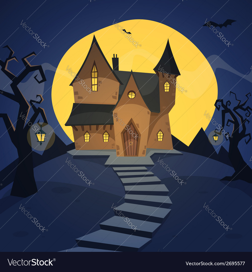 Witch house vector | Price: 1 Credit (USD $1)