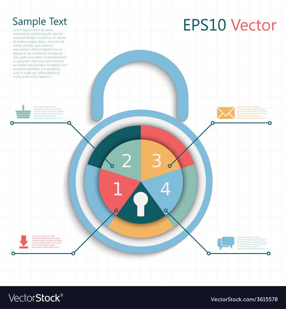 Padlock info vector   Price: 1 Credit (USD $1)