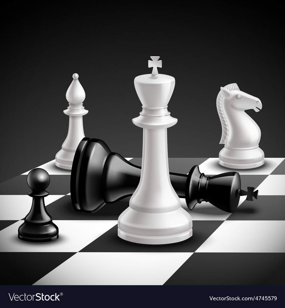 Chess game realistic vector | Price: 3 Credit (USD $3)