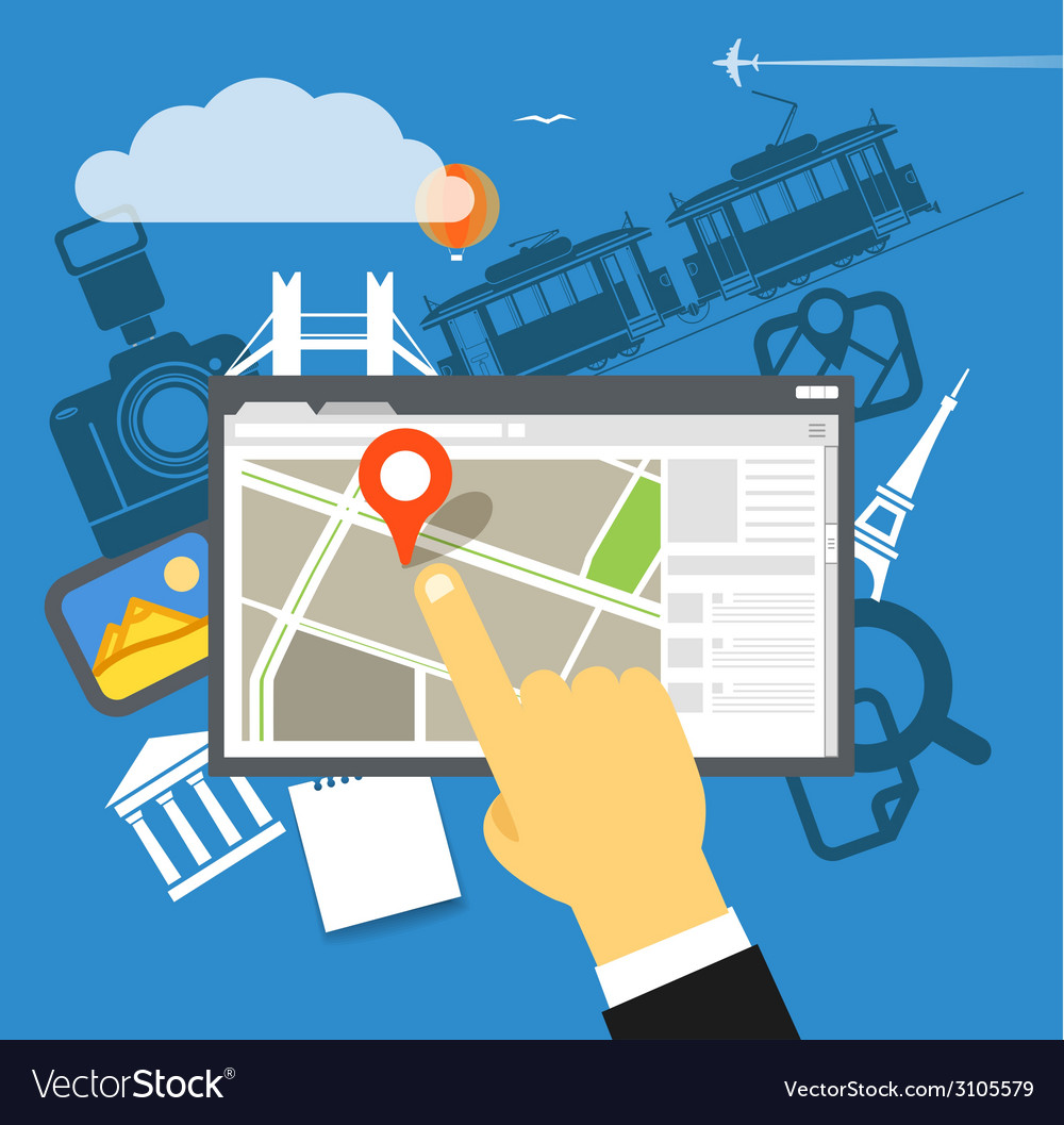 Travel destination vector   Price: 1 Credit (USD $1)