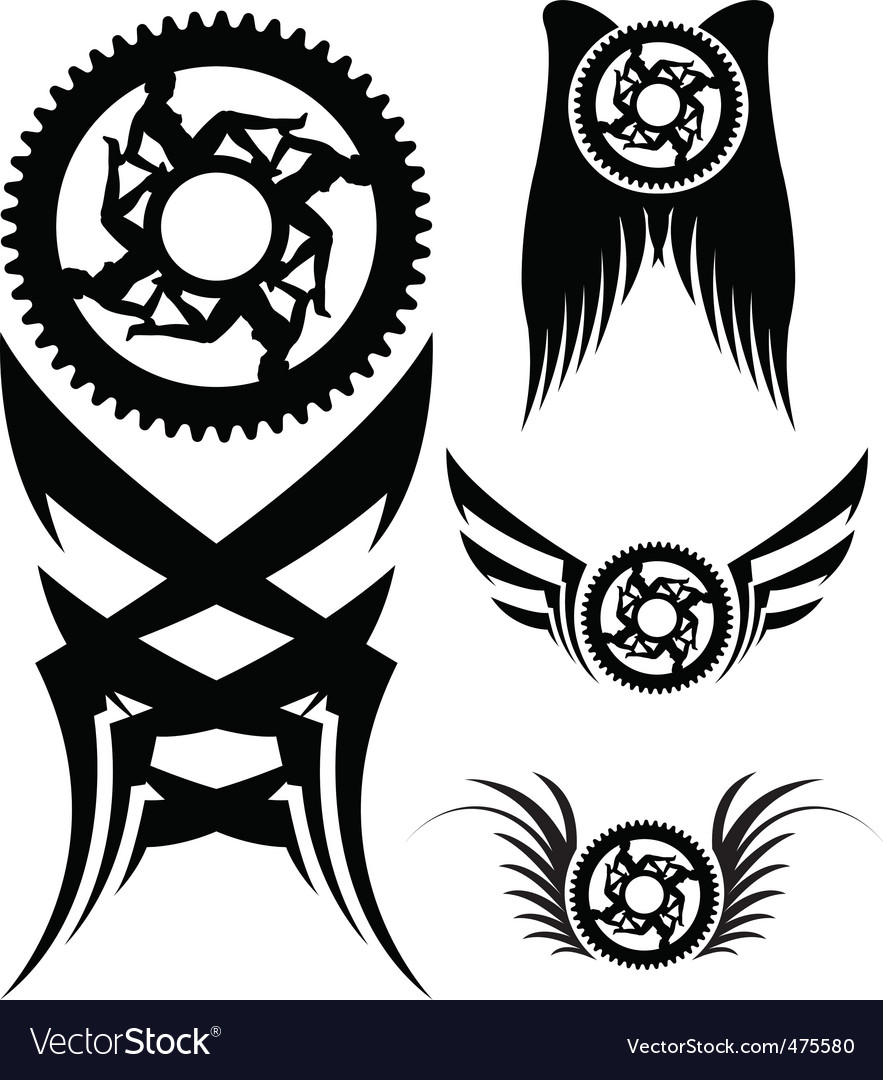 Bike parts art vector | Price: 1 Credit (USD $1)