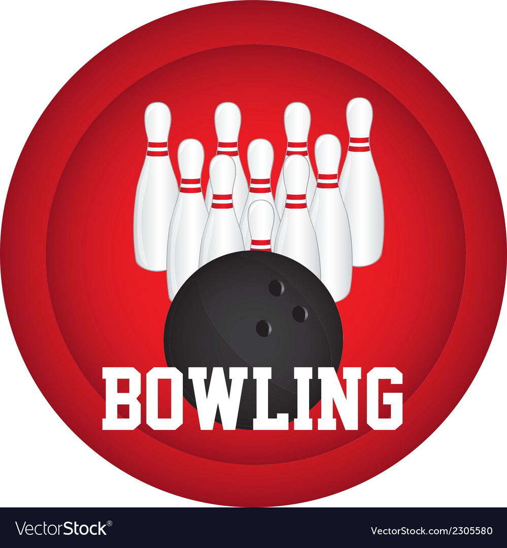 Bowling logo vector | Price: 1 Credit (USD $1)