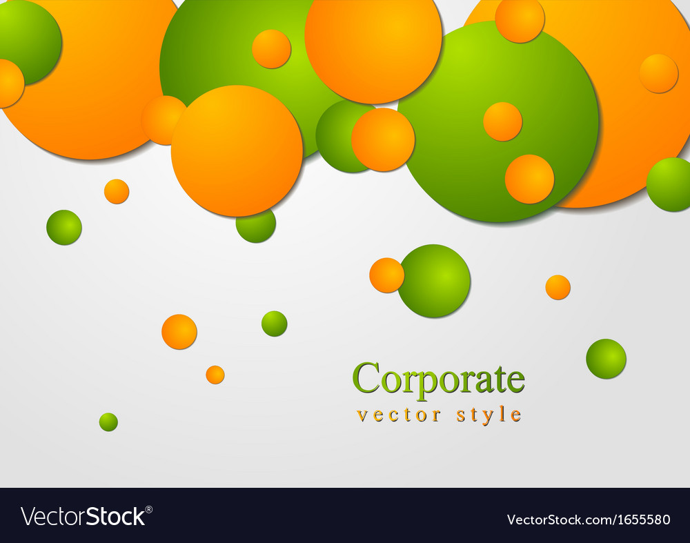 Bright circles design vector | Price: 1 Credit (USD $1)