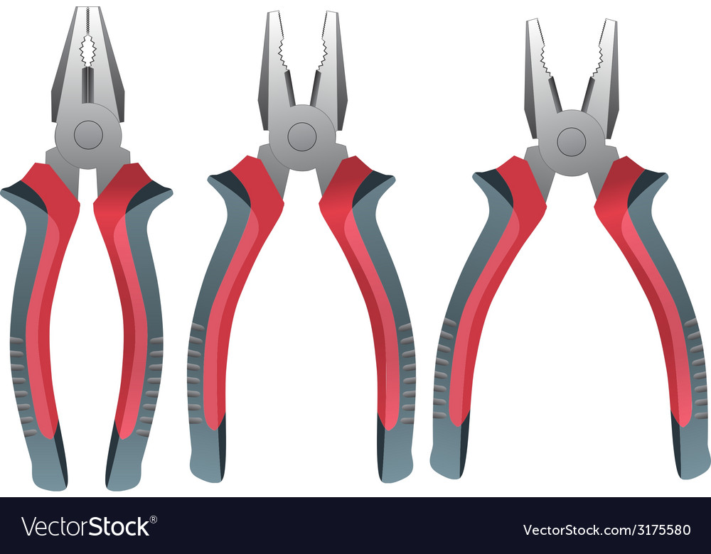 Pliers vector | Price: 1 Credit (USD $1)