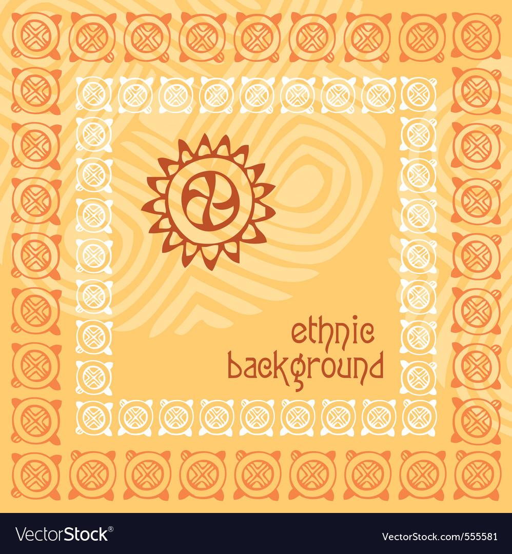 Background ethnics vector | Price: 1 Credit (USD $1)