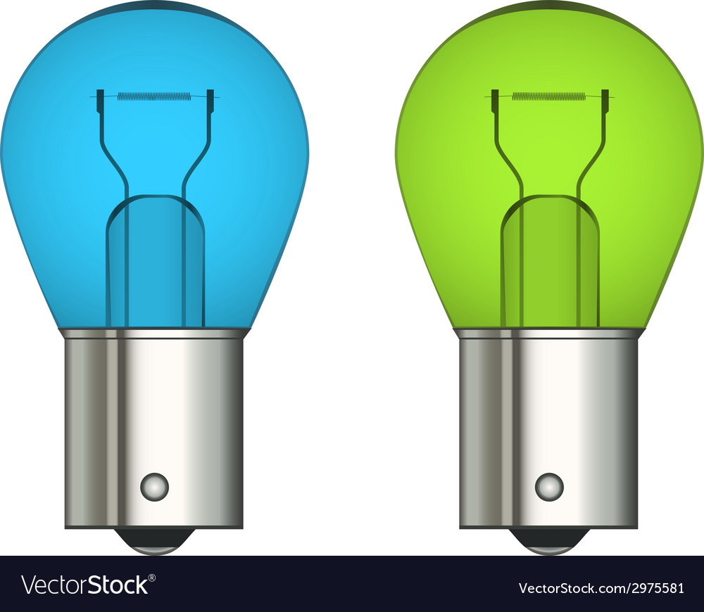 Bayonet car bulb vector | Price: 1 Credit (USD $1)