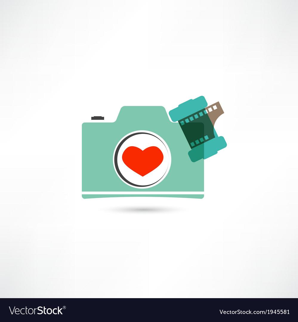 Love photo camera vector   Price: 1 Credit (USD $1)