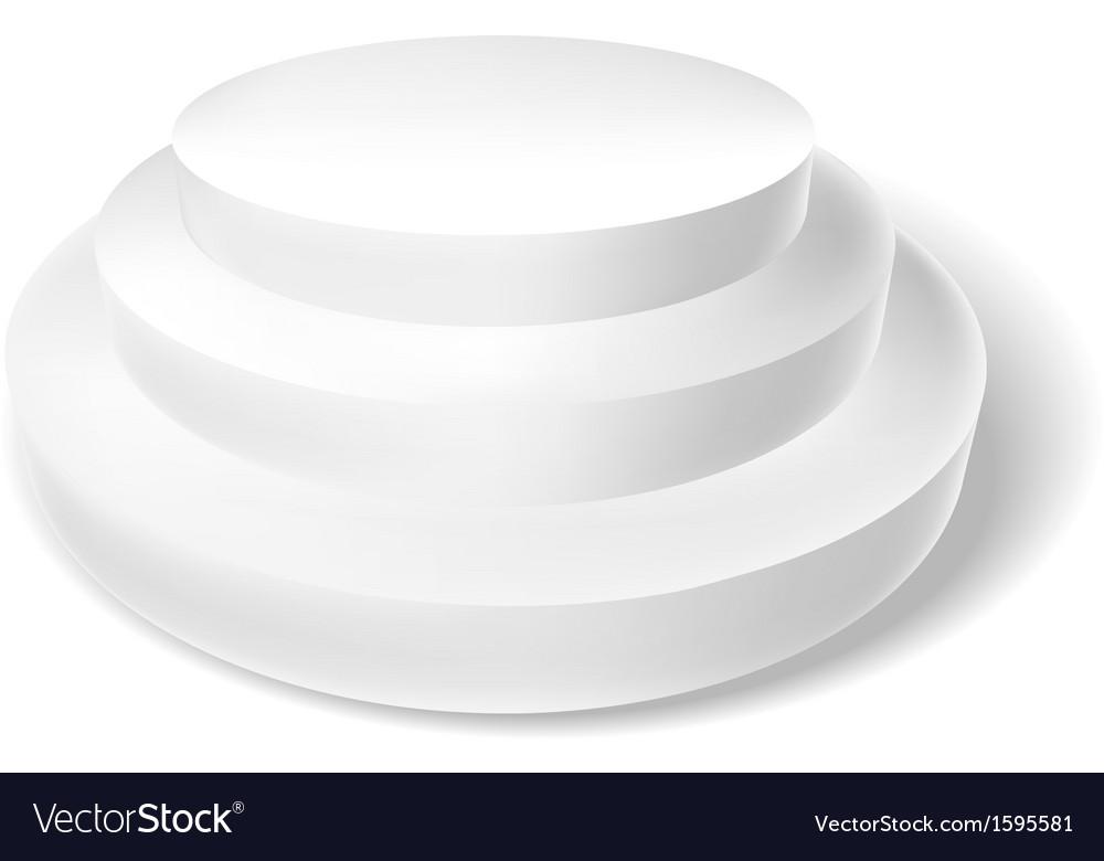 White podium vector   Price: 1 Credit (USD $1)