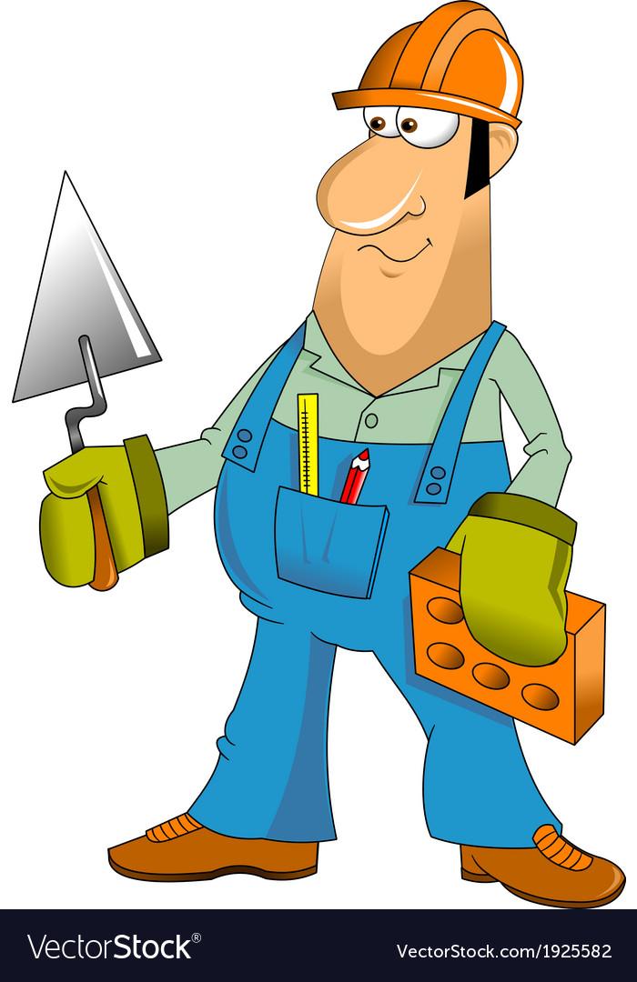 Builder cartoon vector   Price: 1 Credit (USD $1)