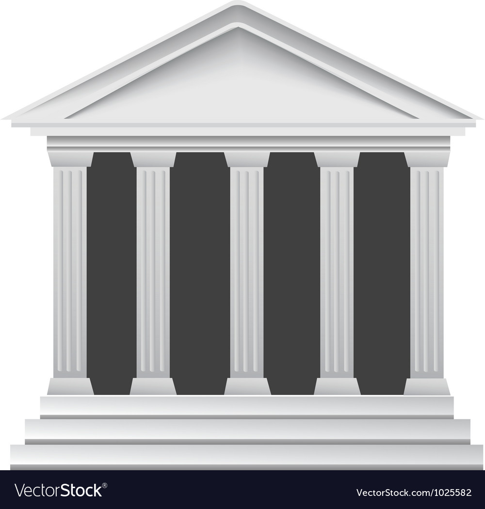 Columns building vector | Price: 1 Credit (USD $1)