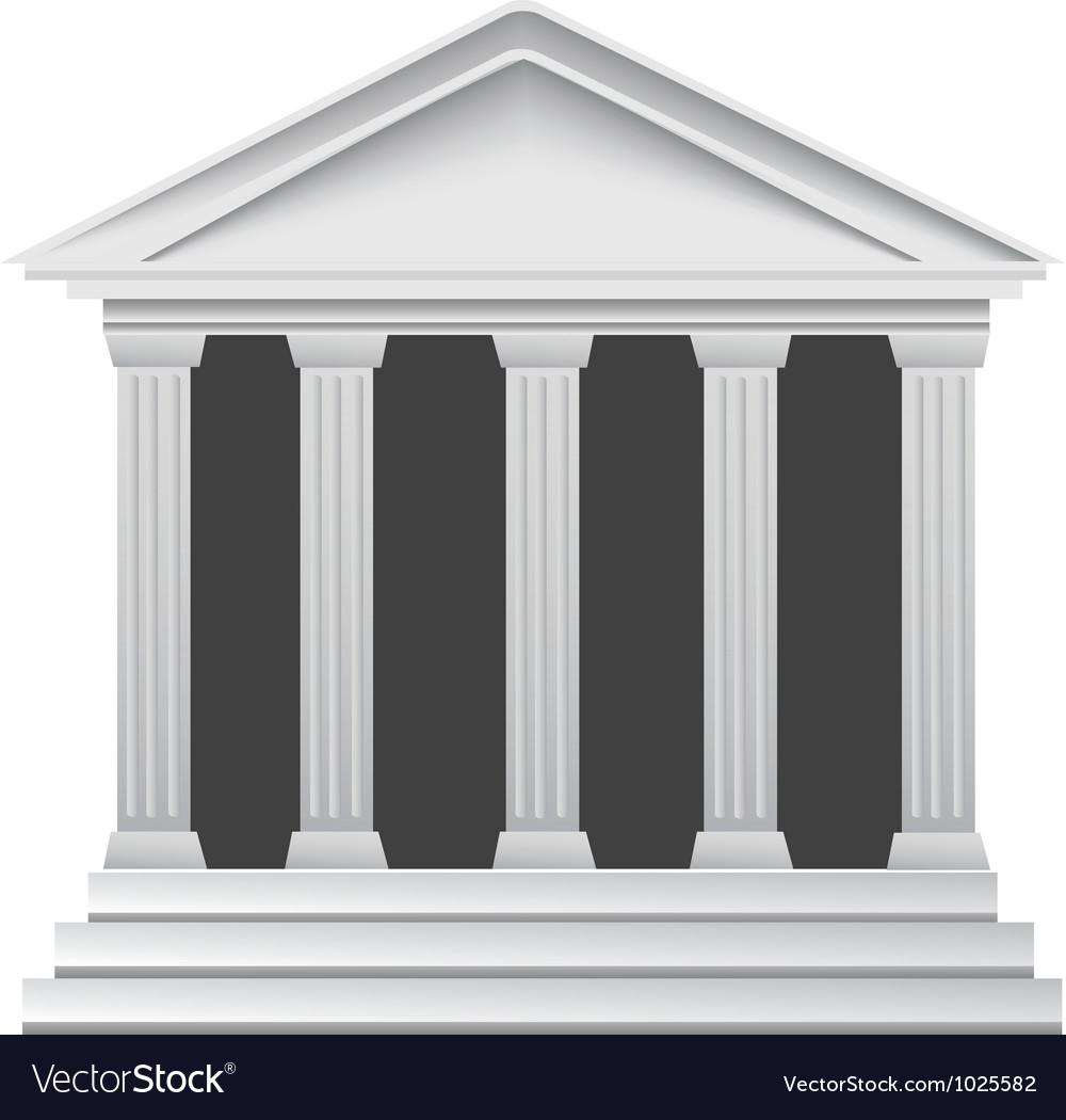 Columns building vector | Price: 1 Credit (USD $1)