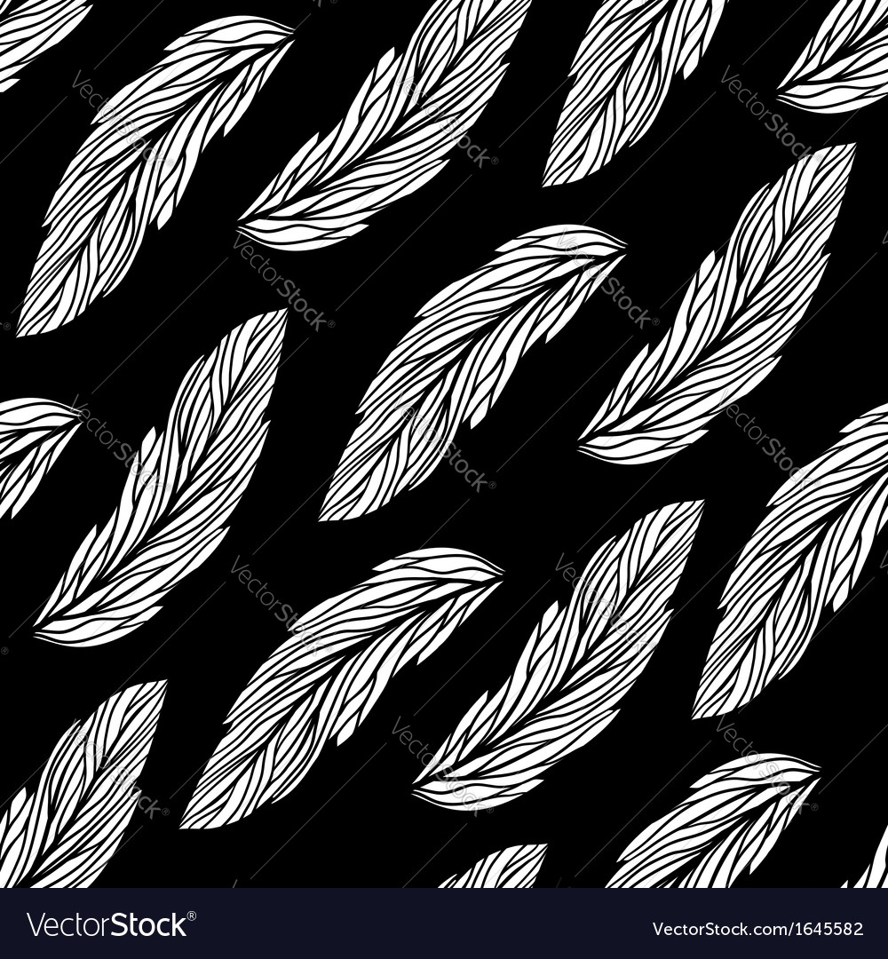 Floral pattern with leaves vector | Price: 1 Credit (USD $1)