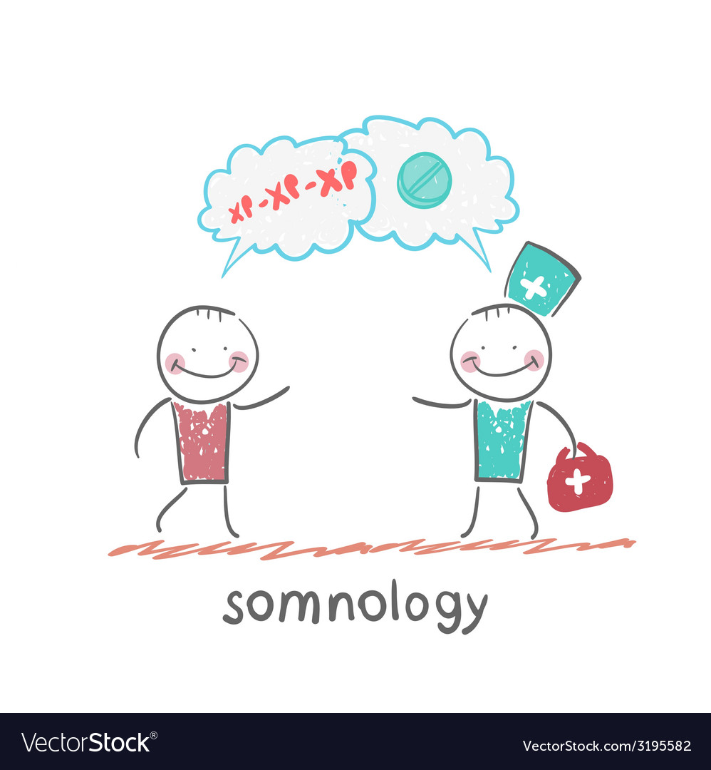 Somnology speaks with the patient about the vector | Price: 1 Credit (USD $1)