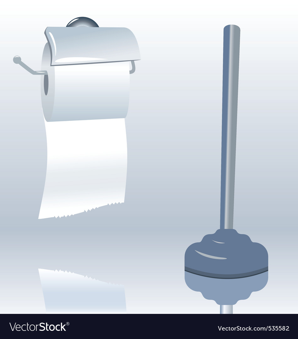 Toilet roll vector | Price: 1 Credit (USD $1)