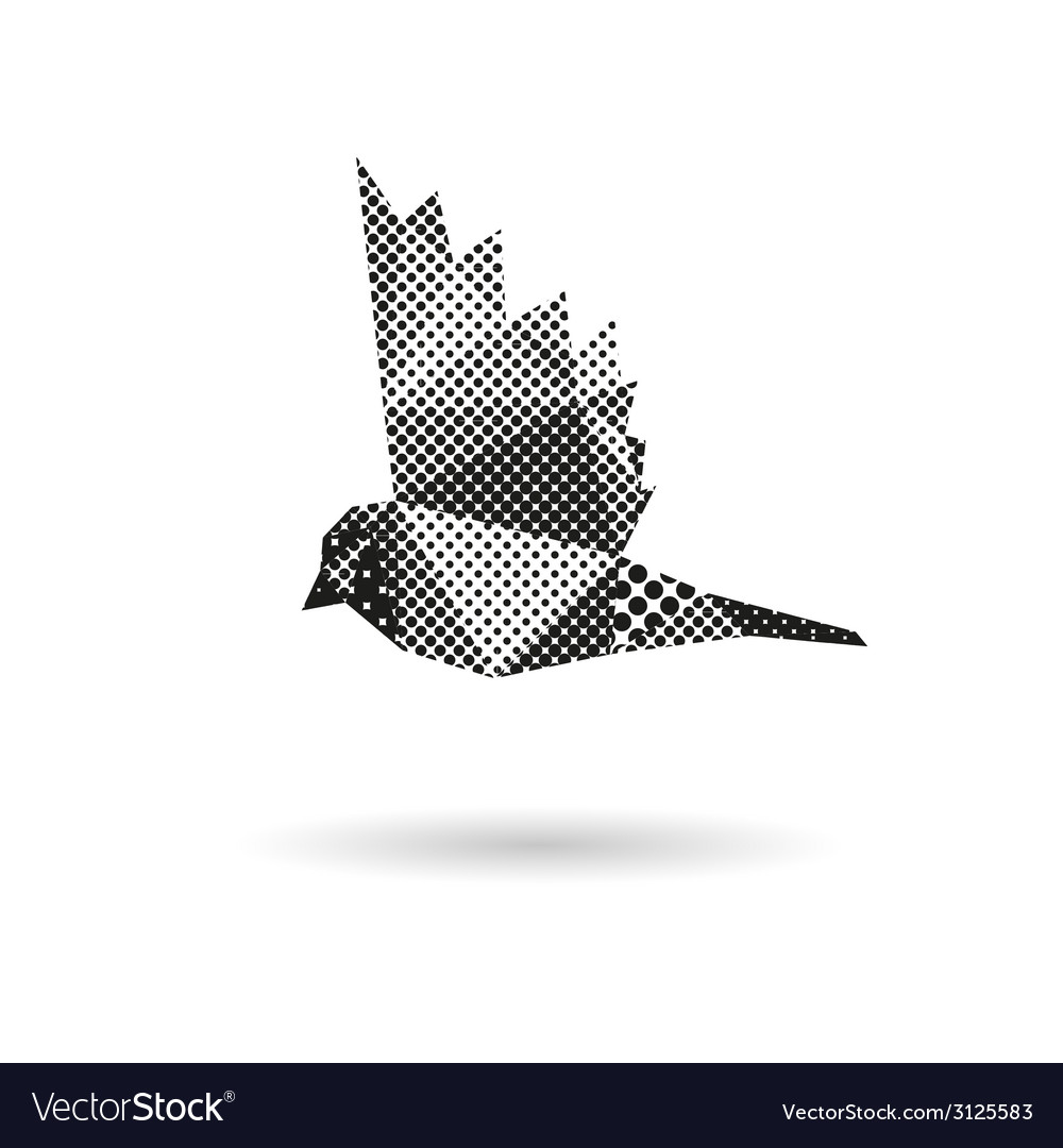 Bird abstract isolated vector | Price: 1 Credit (USD $1)