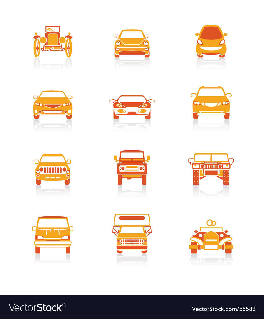 Car icons  juicy series vector | Price: 1 Credit (USD $1)