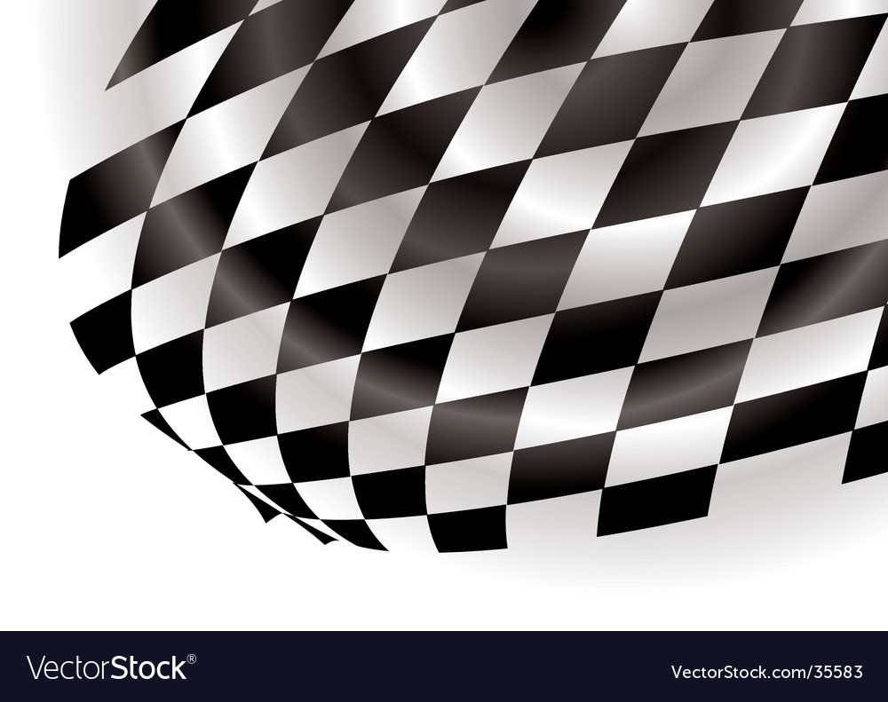 Checkered corner vector | Price: 1 Credit (USD $1)