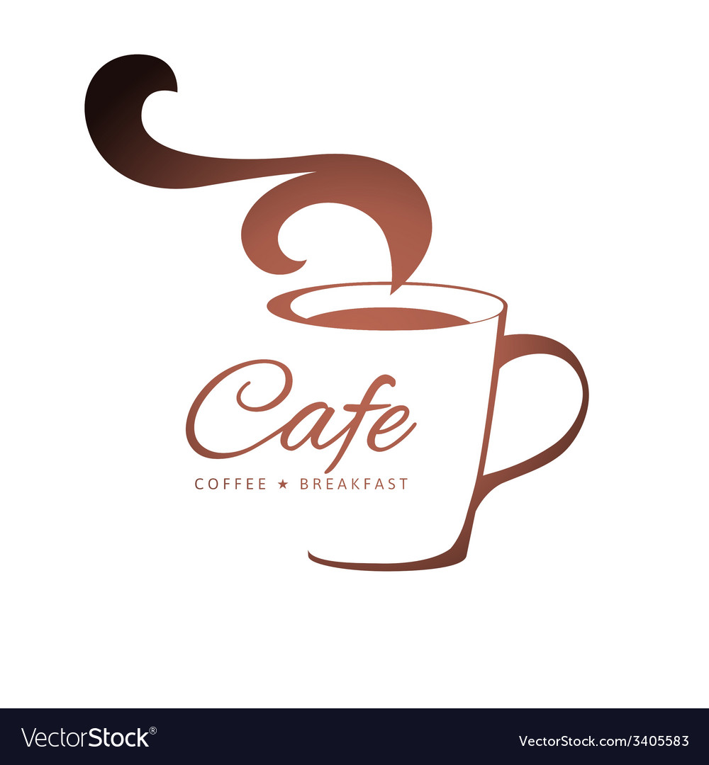 Coffee logo template vector | Price: 1 Credit (USD $1)