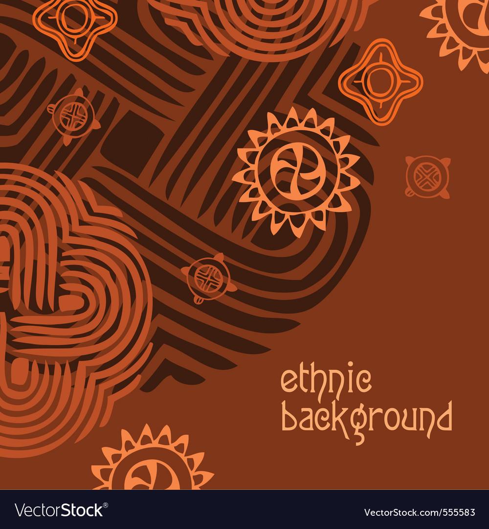 Ethnic background vector | Price: 1 Credit (USD $1)