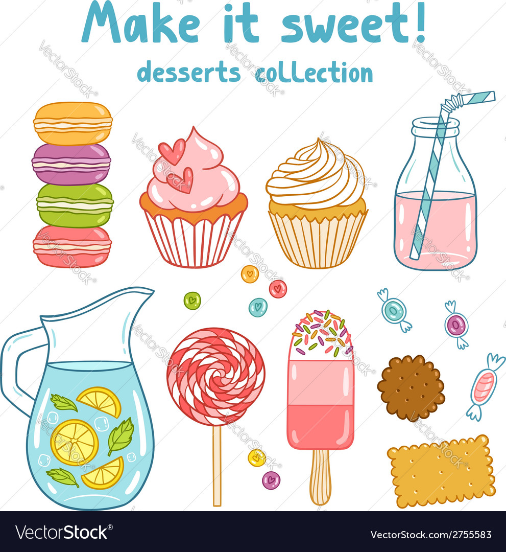 Make it sweet vector | Price: 1 Credit (USD $1)
