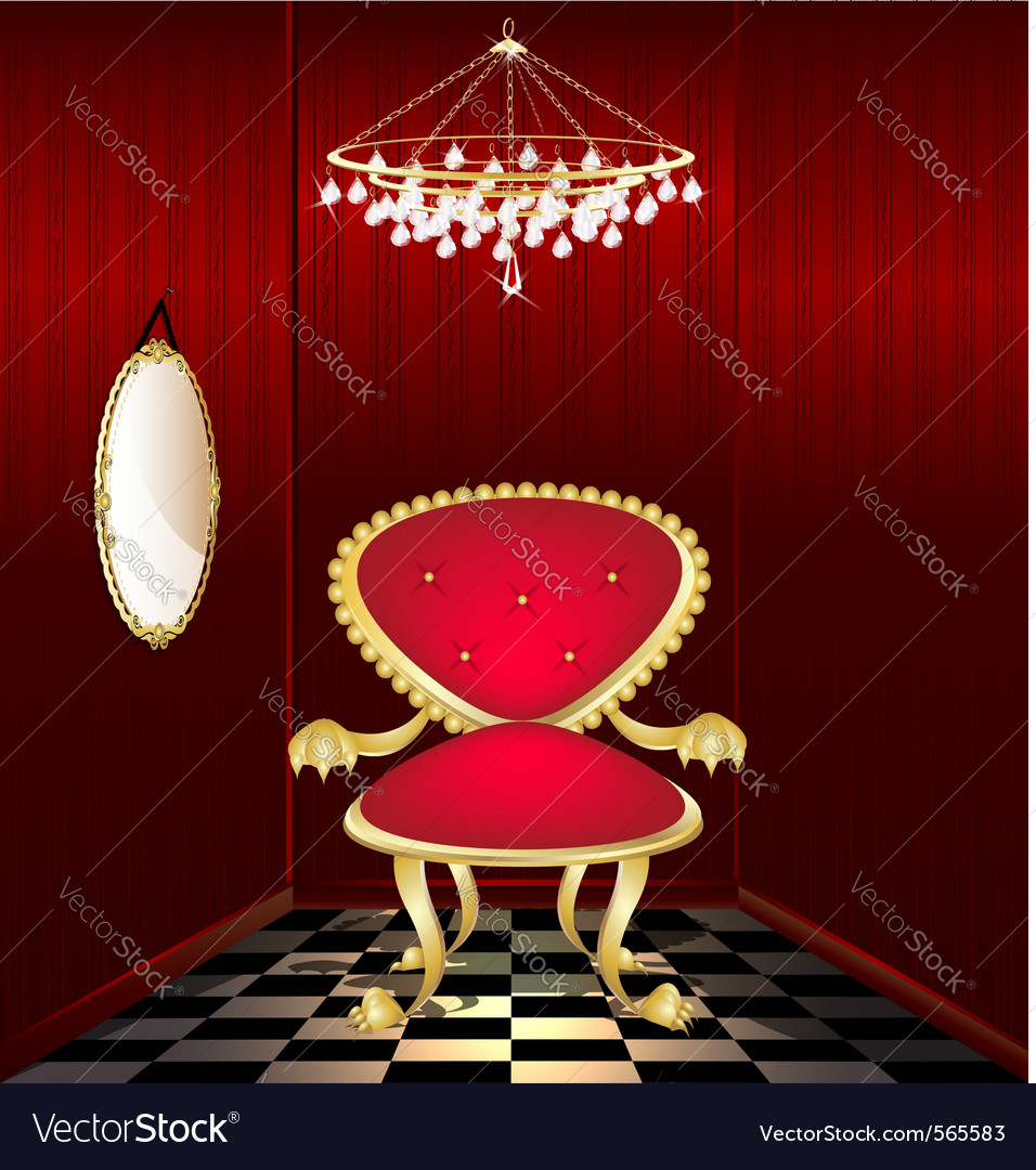 Mystery chair vector | Price: 1 Credit (USD $1)