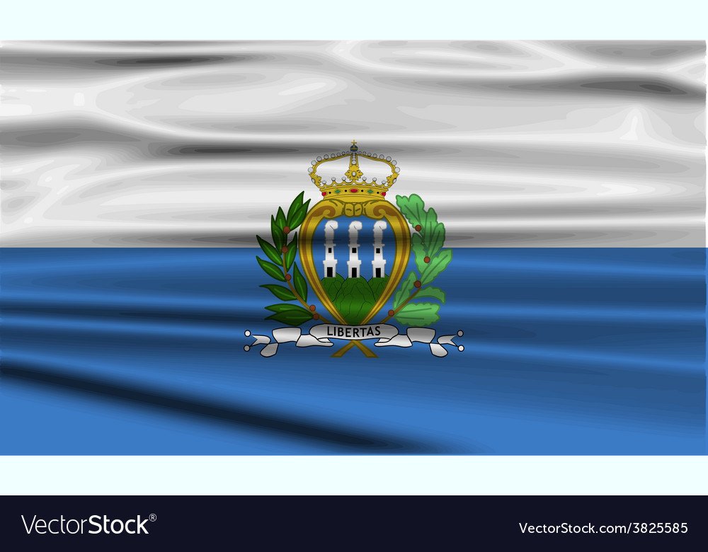Flag of san marino with old texture vector   Price: 1 Credit (USD $1)