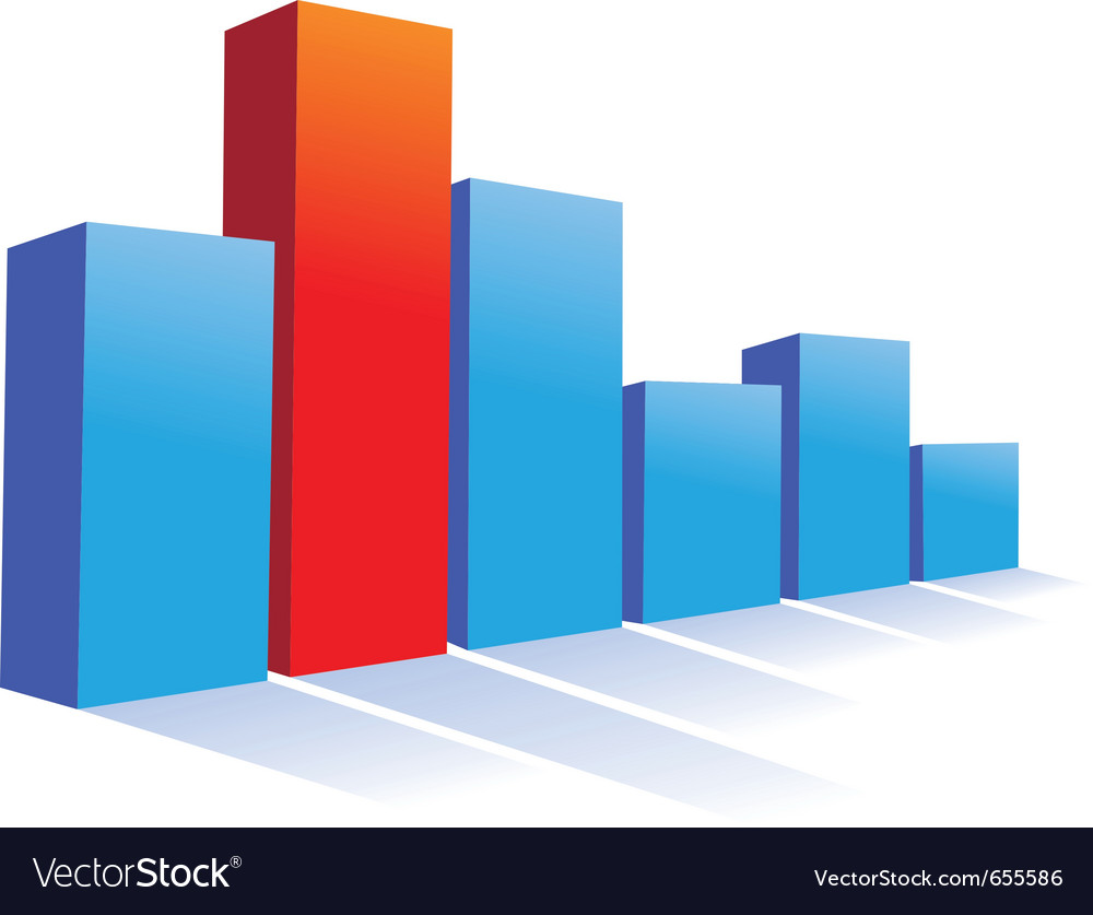Bar chart vector | Price: 1 Credit (USD $1)