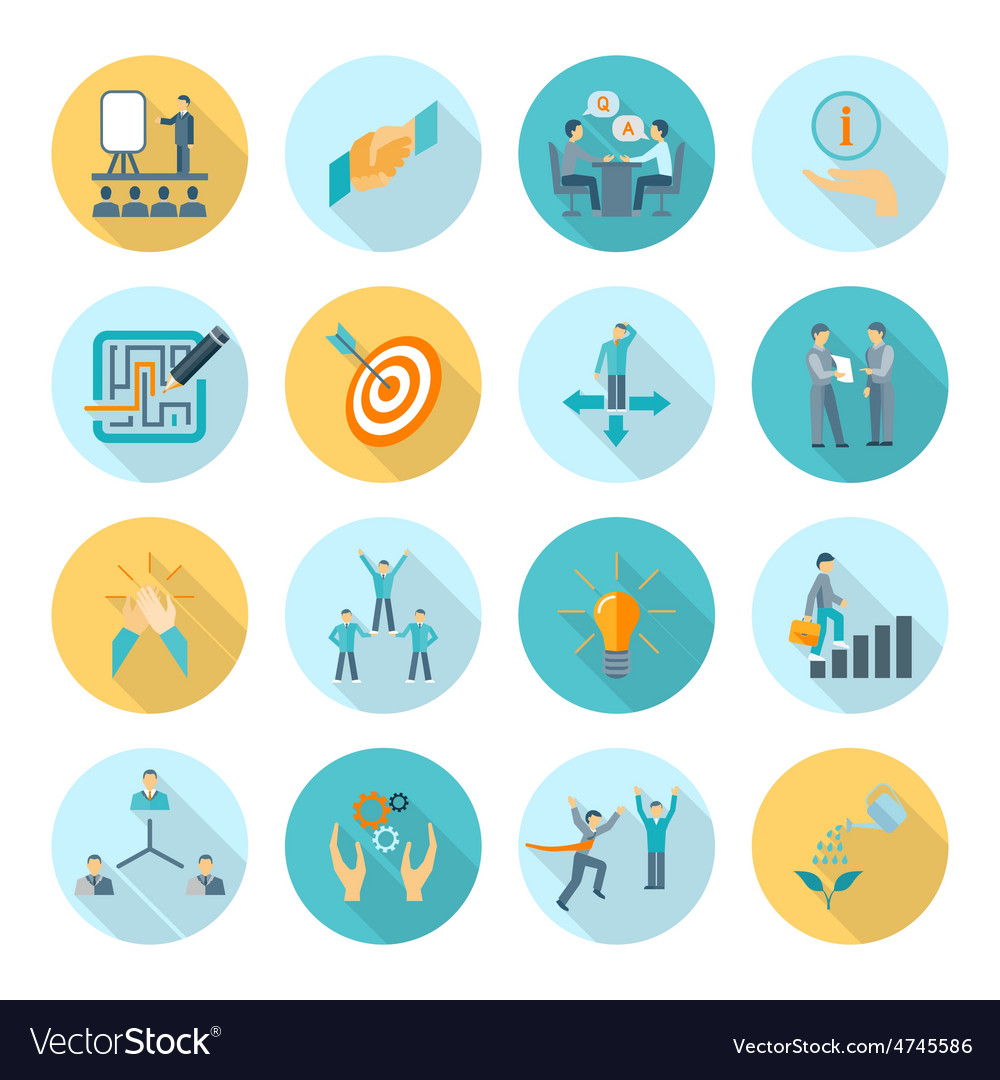 Compliance icons flat vector   Price: 1 Credit (USD $1)