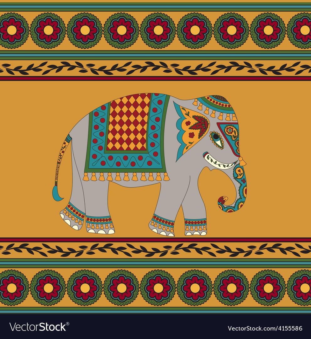 Elephant vector | Price: 1 Credit (USD $1)
