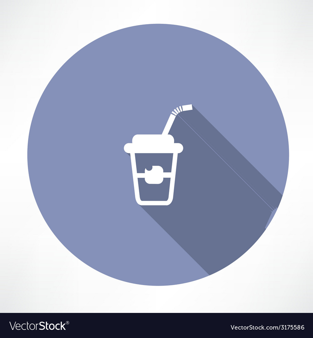 Soft drink icon vector | Price: 1 Credit (USD $1)