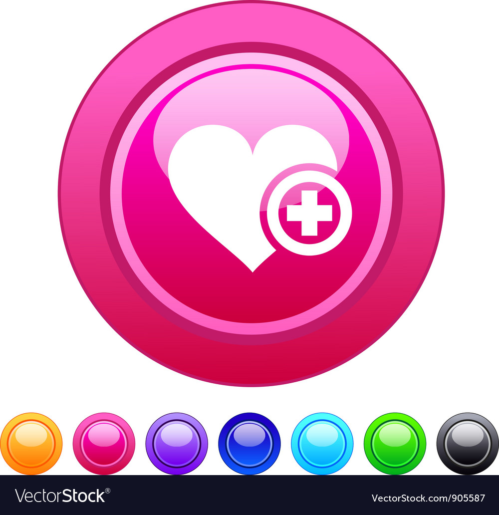 Add to vavorite circle button vector | Price: 1 Credit (USD $1)