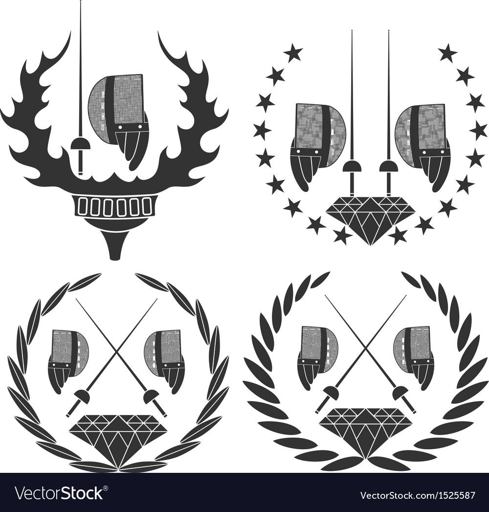 Fencing vector | Price: 3 Credit (USD $3)