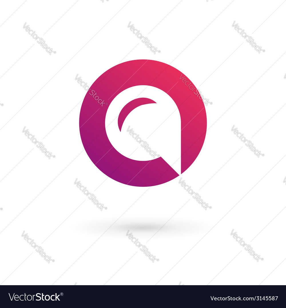 Letter o speech bubble logo icon design template vector | Price: 1 Credit (USD $1)