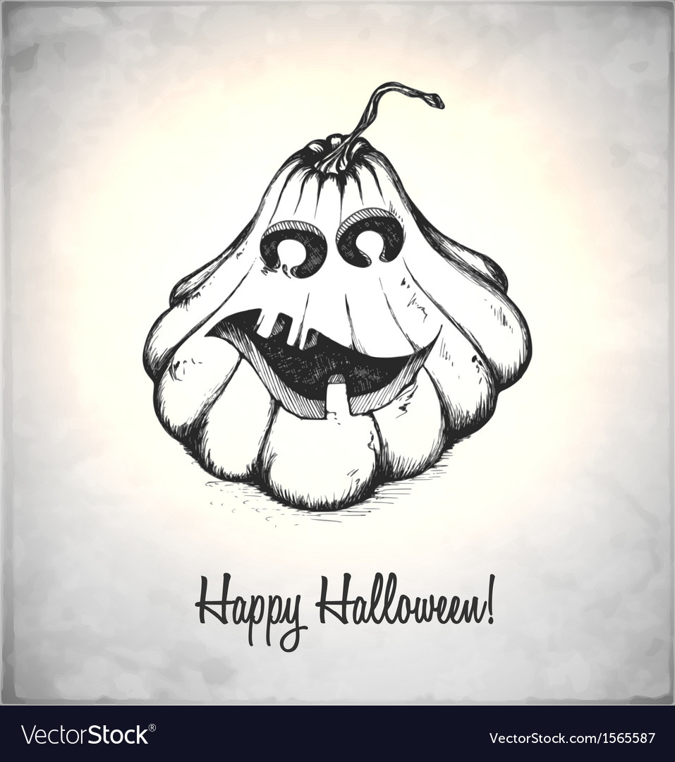 Scary jack o lantern vector | Price: 1 Credit (USD $1)