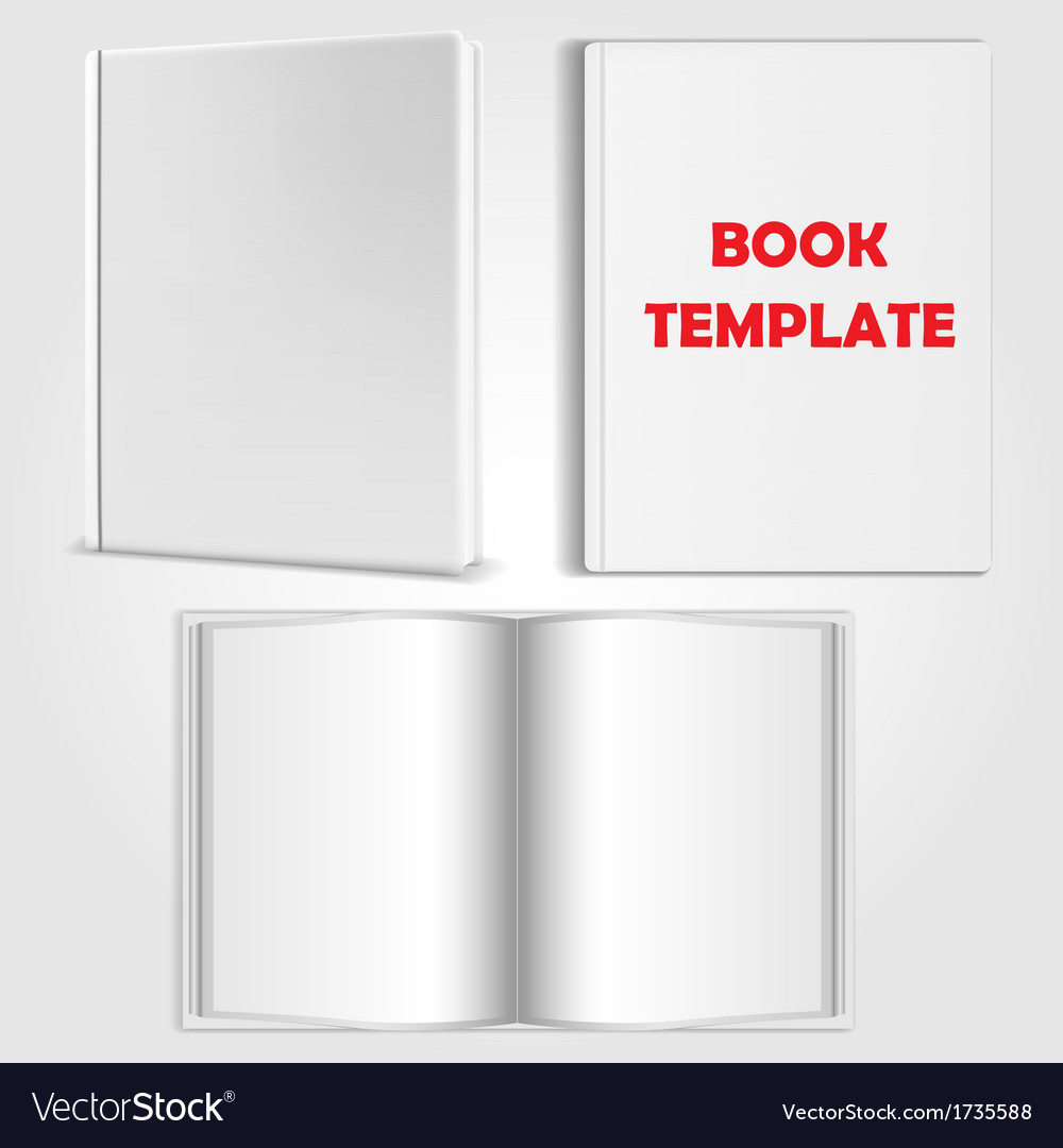 Book template vector | Price: 1 Credit (USD $1)